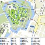 皇居東御苑マップ