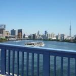 清洲橋 水上バス スカイツリー