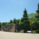 本丸中之門石垣